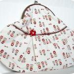 Hand Purse Russian Dolls -..